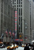 Radio city, New York City Stock Image