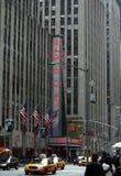 Radio city, New York City stock image