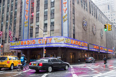 Radio City, New York City Royalty Free Stock Images