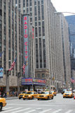 Radio City, New York City Royalty Free Stock Image