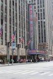 Radio City, New York City Royalty Free Stock Images