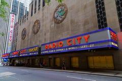 Radio City - New York Royalty Free Stock Images
