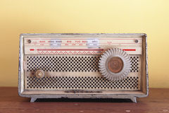 Radio. Classic and old radio machine Stock Photo