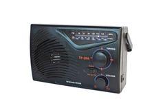 Radio classica del transistore isolata Fotografia Stock Libera da Diritti