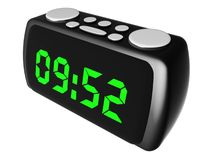 Radio clock Stock Photography