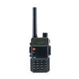 Radio communication. Black radio communication on white background Stock Photos