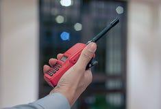 Radio communication Royalty Free Stock Photo