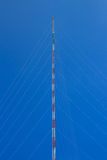 Radio communication tower. Stock Photos