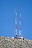 Radio Communication Towers Stock Photos