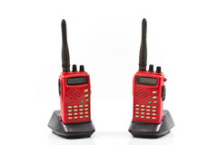Radio communication Royalty Free Stock Photo