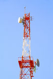 Radio communications antenna Stock Photo