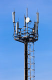 A radio communications tower Stock Photos