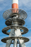 Radio Communications Tower Royalty Free Stock Image