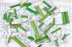 Radio components Stock Image