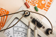 Radio components stock images