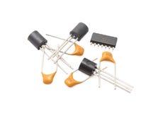 Radio components Royalty Free Stock Image
