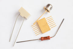Radio components Royalty Free Stock Photography