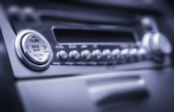 Radio con los botones Fotografía de archivo