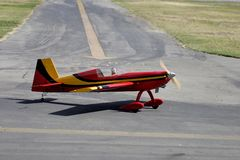 Radio Control Plane #2. Radio Control Plane preparing to take off Stock Image