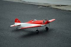 Radio Control Plane Stock Photo