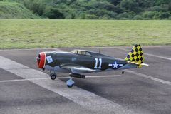 radio controlled airplane royalty free stock images