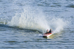 Radio controlled boat Royalty Free Stock Images
