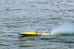 Radio controlled boat Stock Photography