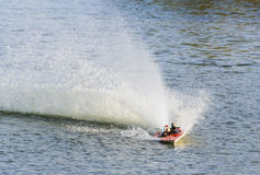 Radio controlled boat Stock Photos