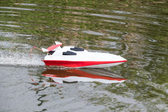 Radio Controlled Boat Royalty Free Stock Photography