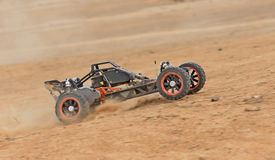 Radio-controlled car racing Royalty Free Stock Images