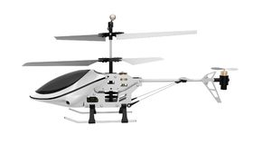 Radio Controlled Helicopter Isolated. On white background. 3D render royalty free illustration