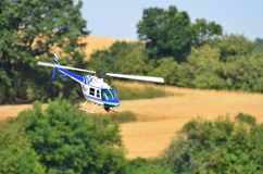 Radio controlled helicopter Stock Photography