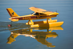 Radio controlled Hydroplane Royalty Free Stock Images