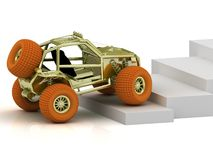 Radio-controlled model buggy Stock Photos