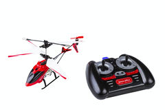 Radio-controlled model of the helicopter Royalty Free Stock Images