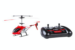 Radio-controlled model of the helicopter Stock Images