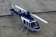 Radio-controlled model of helicopter Royalty Free Stock Photography