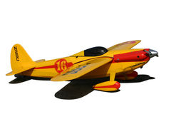 Radio controlled plane Stock Images