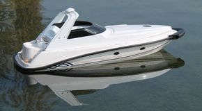 Radio Controlled Speed Boat. Stock Photography