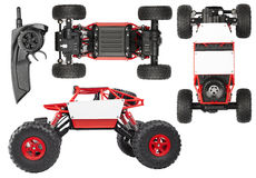Radio controlled SUV for extreme Royalty Free Stock Images