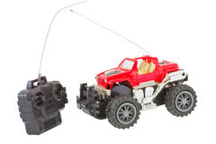 Radio controlled truck. Radio controlled four wheel truck royalty free stock photos