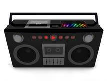 radio 3d Foto de archivo libre de regalías
