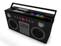 Radio 3d Stockbild