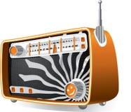 Radio d'annata illustrazione vettoriale