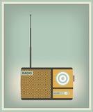 Radio d'annata illustrazione di stock