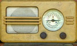 Radio de antaño Imágenes de archivo libres de regalías