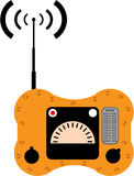 Radio de canot de sauvetage Photographie stock