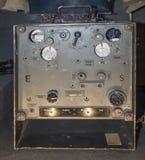 Radio de champ portative déchirée Fu d2 (Allemagne, 1940) Images libres de droits
