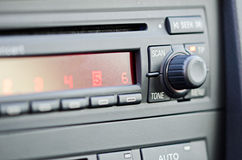Radio de coche Fotografía de archivo