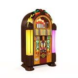 Radio de juke-box Photo libre de droits
